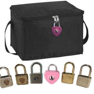LunchLocka insulated Locking Lunch Bag combination lock Yellow