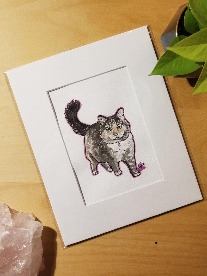 Custom Pet Portraits \u2022 Watercolour Painting \u2022 Gifts for Pet lovers