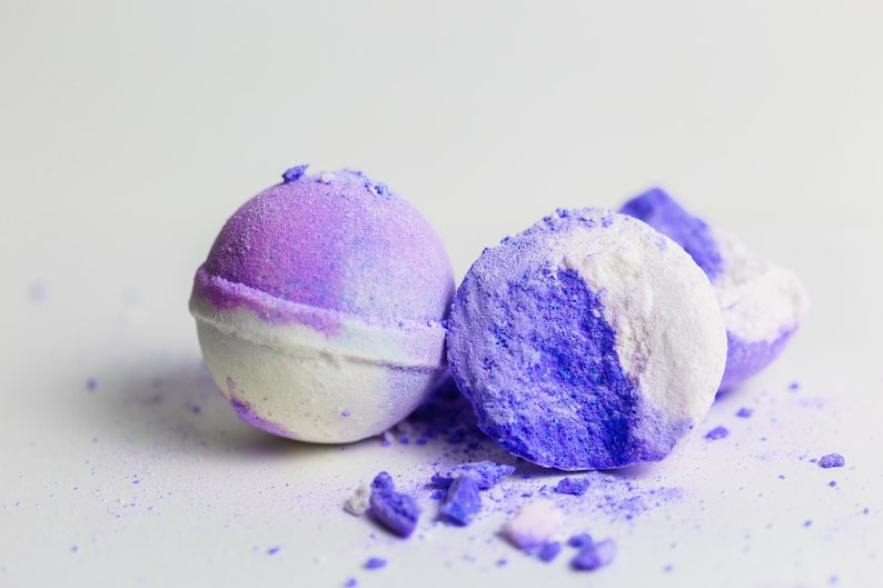 Grape Bath Bombs  Gifts for Wine Lovers  Bath Bombs  image 0