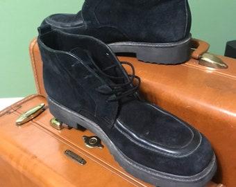 98415e4266e Vintage Black suede Hush Puppies Womens shoes size 9