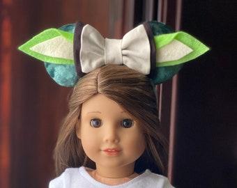 Jasmin inspired mouse ears for 18 inch dolls Ag dolls og dolls.
