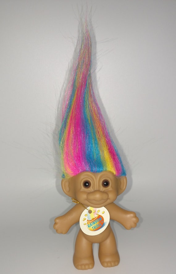 Russ Trolls 7 inch Tracey Evening Gown Troll yellow hair