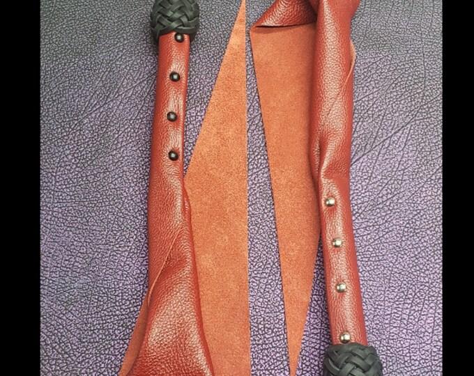 Crimson Leather Dragon's Tail