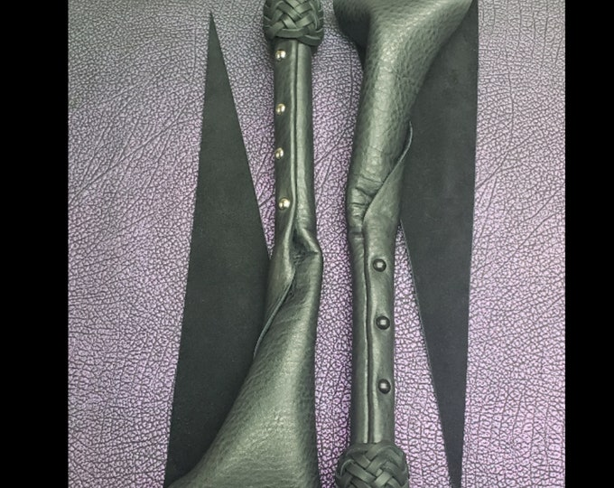 Black Leather Dragons Tail