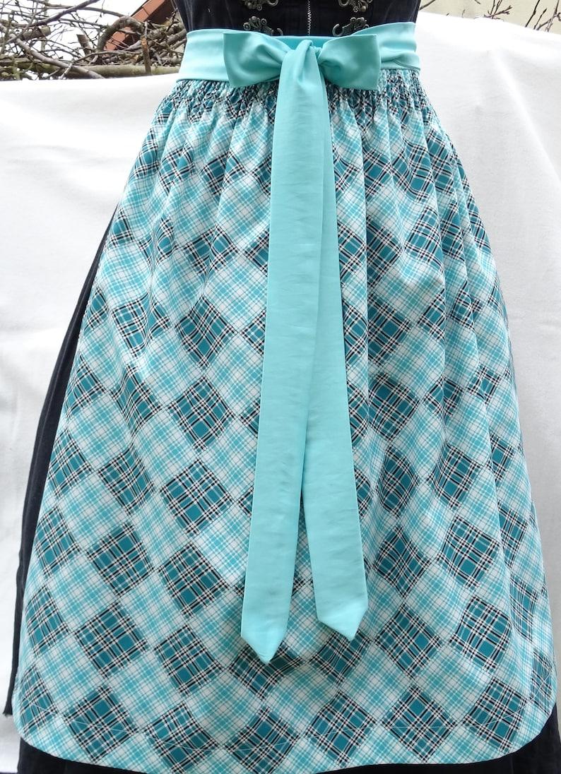 Dirndl apron Scottish