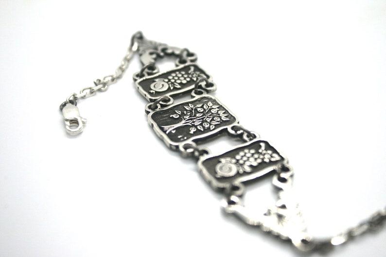 Tree of Life BraceletTree BraceletPomegranate BraceletGrape BraceletArmenian JewelryArmenian ShopArmenian GiftNature Lover Bracelet