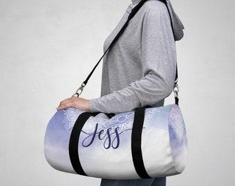 Fitness Bag  Stylish Personalized Geometric Gym Bag 1b3bd730487dc