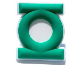 a981a7d88bd3 Green Lantern Superhero Rubber Shoe Charm For Crocs