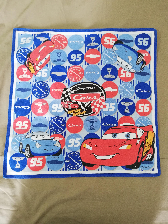 Vintage Cars Lightning McQueen handkerchief