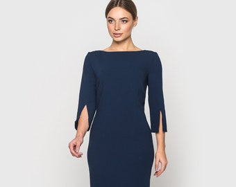 038377747ae Elegant dress AUDREY for every day or business