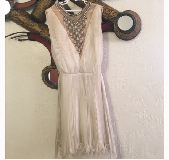 "Stunning 1960s ""Marilyn Monroe""  Chiffon Dress"