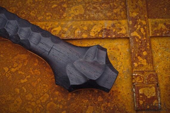 Forgiato a mano damasco axe ascia personalizzato bushcraft etsy