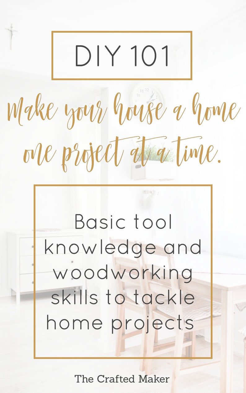 DIY 101: Make Your House a Home One Project at a Time  E-Book image 0