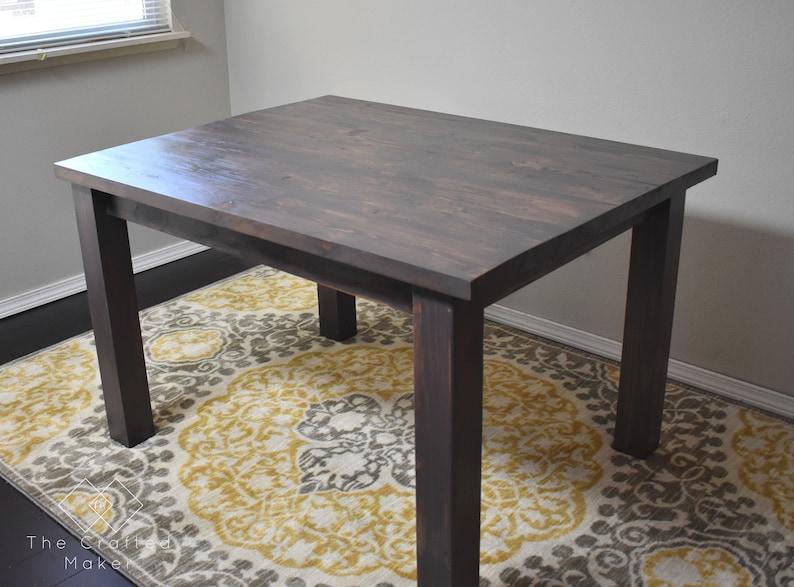 Modern Farmhouse Dining Table Pdf Plans
