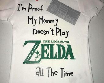 0fb67f282 Legend of Zelda baby bodysuit