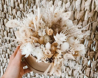 Dried flowers cutlery | Boho cutlery | Gift idea midwife | Maid of | gift Dried flower box | Boho Scandi | Girlfriends Gift