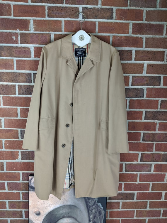 70s Men's Burberry Rain Coat