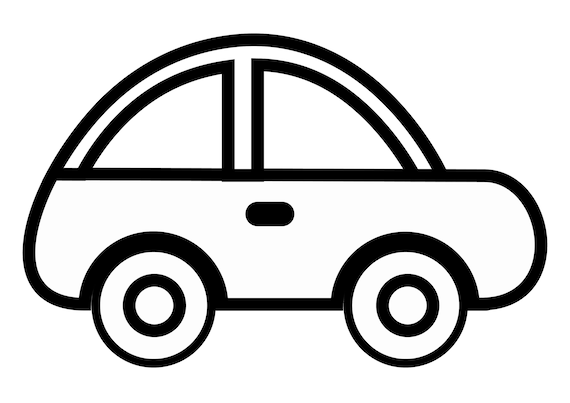 Items Similar To LAND TRANSPORT CLIPART With Thick Outline
