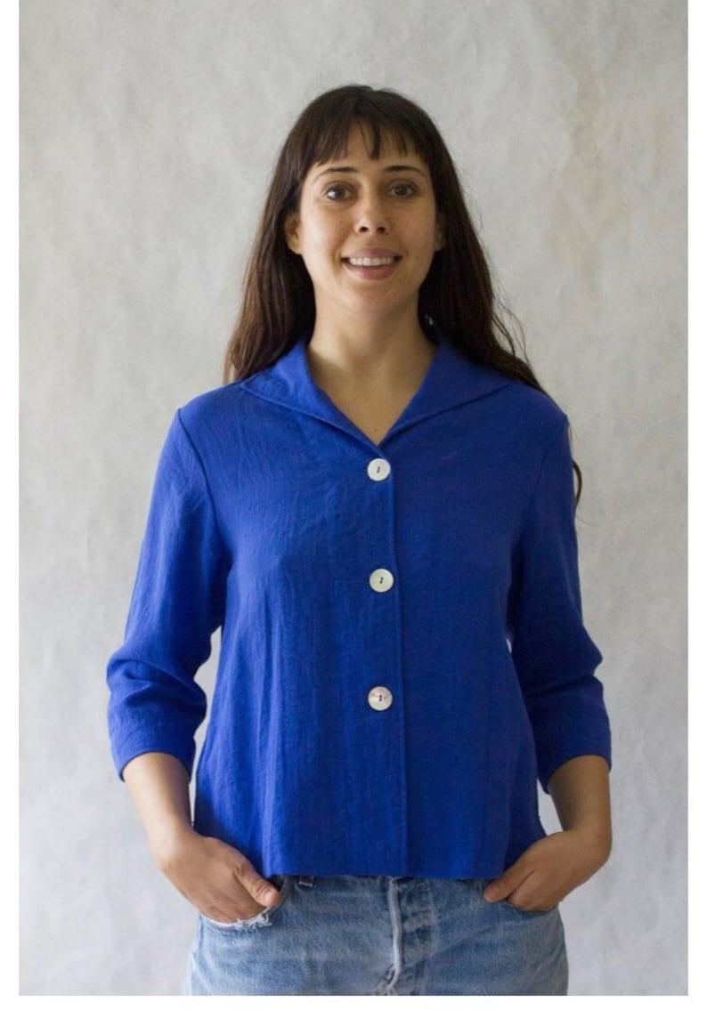 Blue Linen Shirt