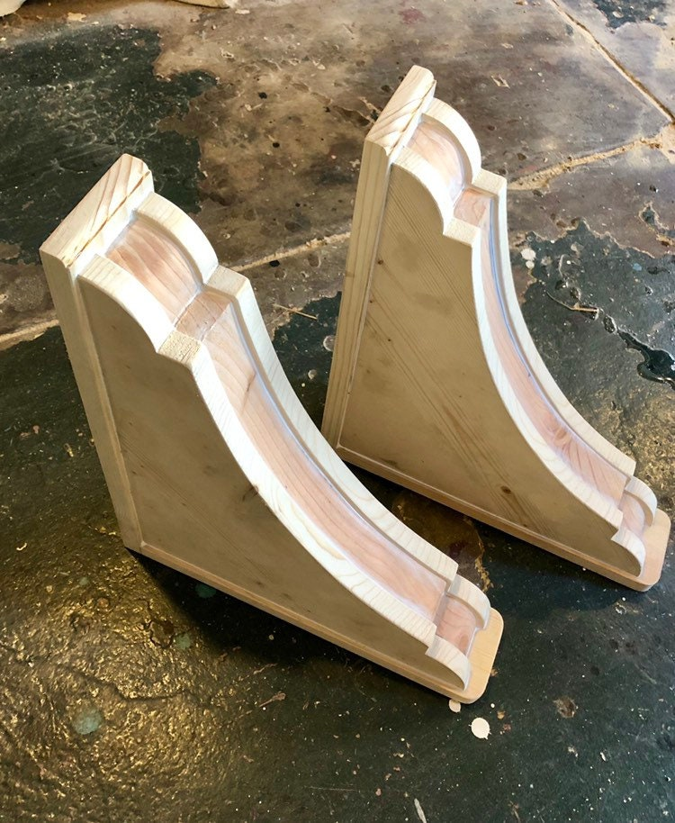 Wooden Corbels Style 15