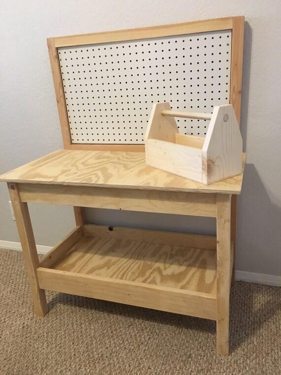 Awe Inspiring Kids Wooden Tool Bench Short Links Chair Design For Home Short Linksinfo