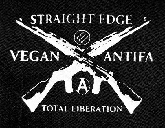 Straight Edge Vegan Antifa Total Liberation