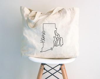 2b13ff1ed327 Tote Bag Rhode Island