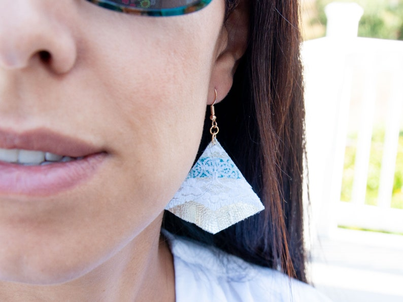 2021 Neujahr Geschenk romantischen Stil Ohrringe | Etsy
