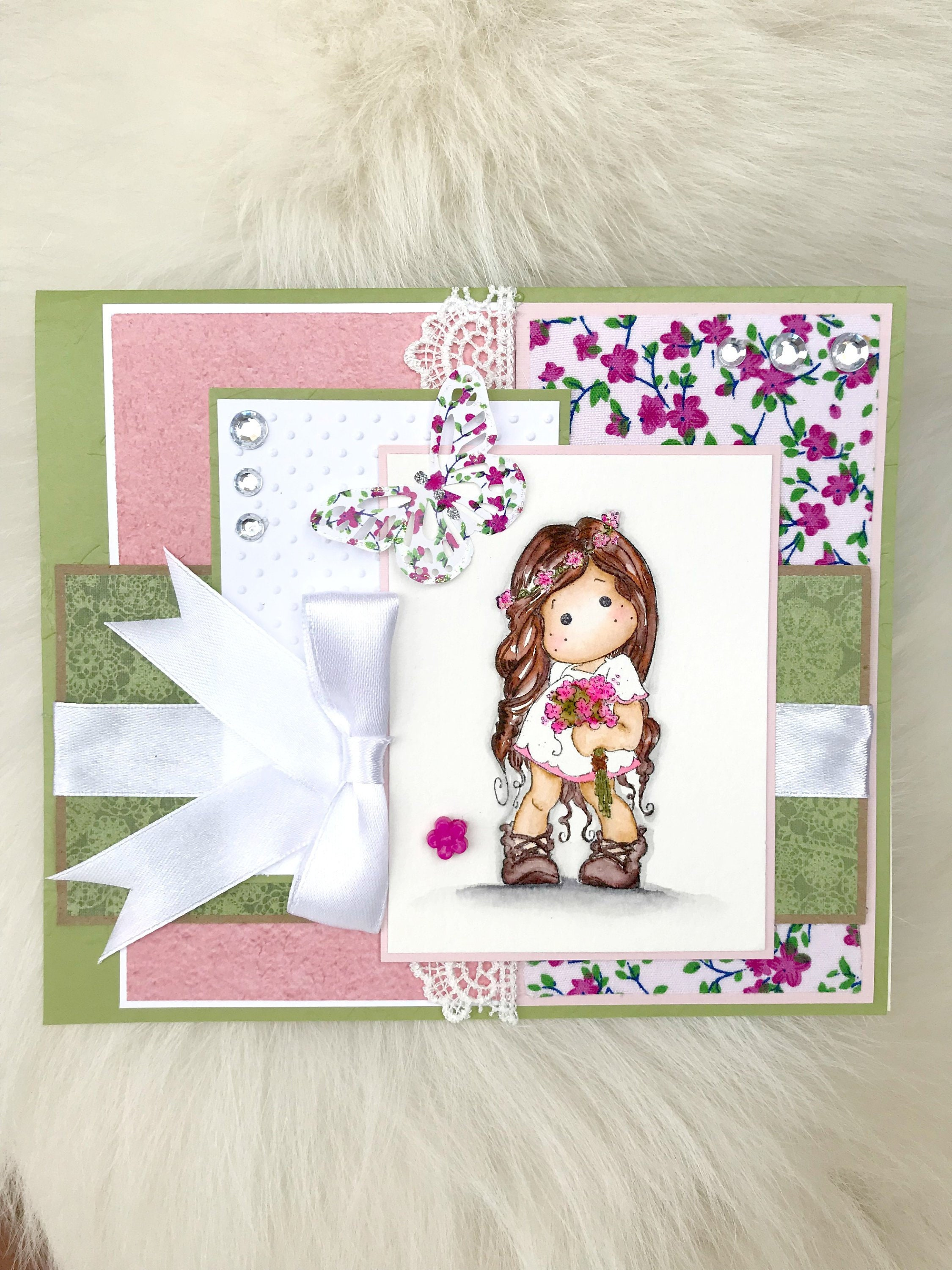 Sweet 16 Card Daughter Handmade Cards Best Friend Cards Magnolia