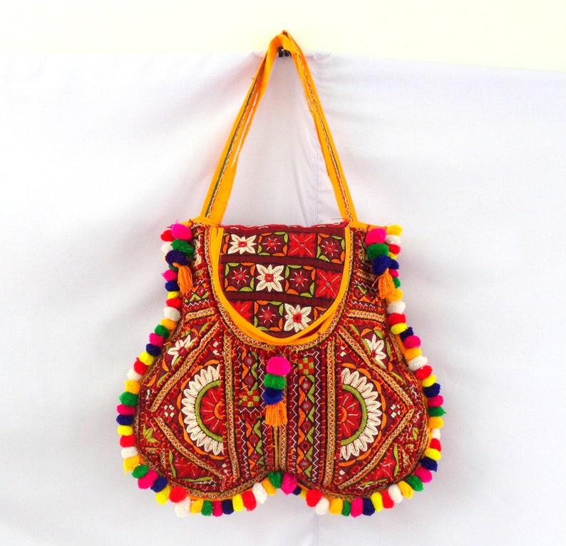 8e14afa9f0 Banjara Style Women s Handmade Tote Bag Hand Embroidery