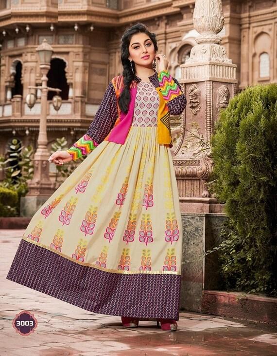 Ladies Koti Jacket Vest Indian Pakistani Party and summer Wear Cotton