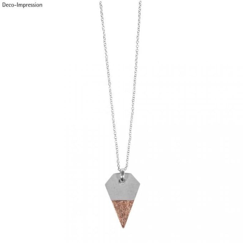 SB-Btl 1piece jewelry concrete jewelry making Craft Pendant diamond 2.5 x 3.9 cm