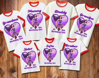 ff145073f Princess Iron On Transfer , Princess Birthday Set Family Shirt Iron On  Transfer , Princess Digital File , Personalize
