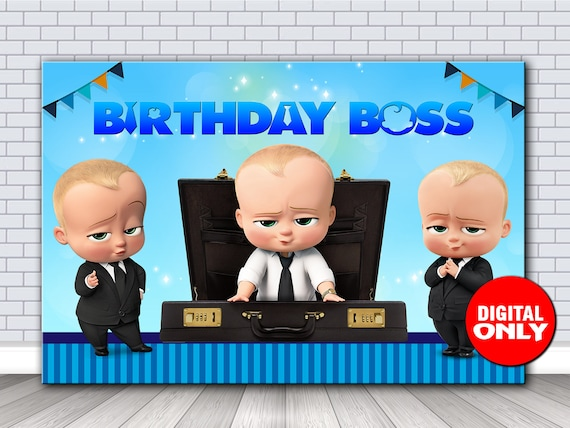 photo regarding Boss Baby Printable known as Manager Child Printable BackdropBoss Youngster Backdrop 60x40 inch PrintableDigital Record Obtain