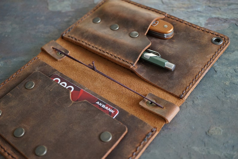 County Fold wallet ~ magazine cover ~ wallet swiss army cover moleskine cover EDC