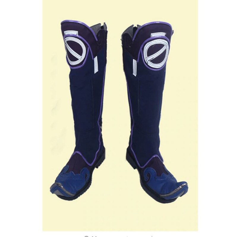 aafd8249b45 Overwatch Mei Skin Jiangshi Cosplay Boots