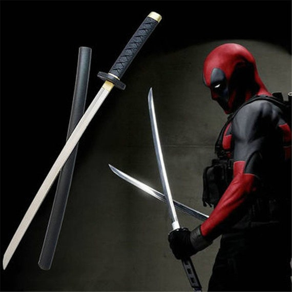 Deadpool Superhero Prop Swords Backstrap Costumes & Accessories Novelty & Special Use