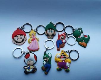 Super Mario Bros Keyring