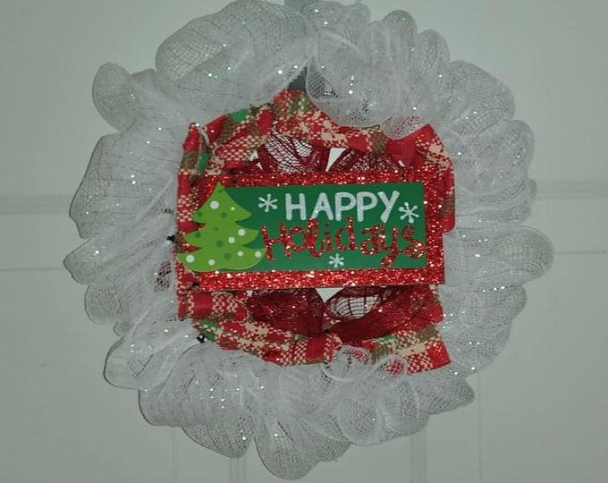 "8"" Mini Christmas Wreath"