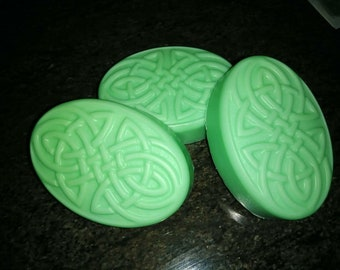 Cucumber Melon Goats Milk Soap
