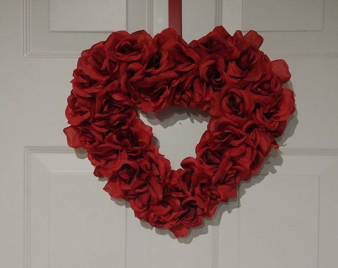 Beautiful Heart Shaped Wreath