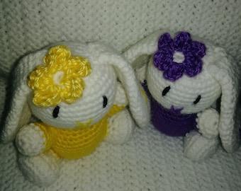 Adorable Customizable Crochet Bunnies