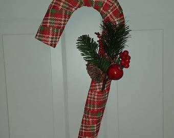 Beautiful Christmas Candy Cane Wreath