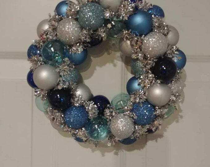"Beautiful 8""Mini Ornament Wreath"