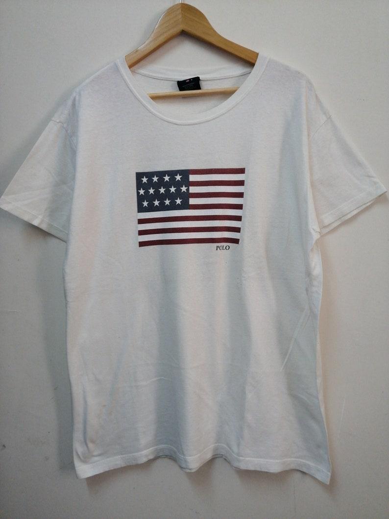 84fe2c2f6d4 Vintage90s POLO SPORT Ralph Lauren crewneck tshirt/size | Etsy