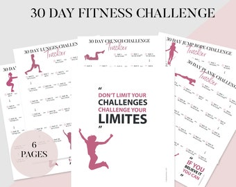 picture about Plank Challenge Printable referred to as Plank situation Etsy