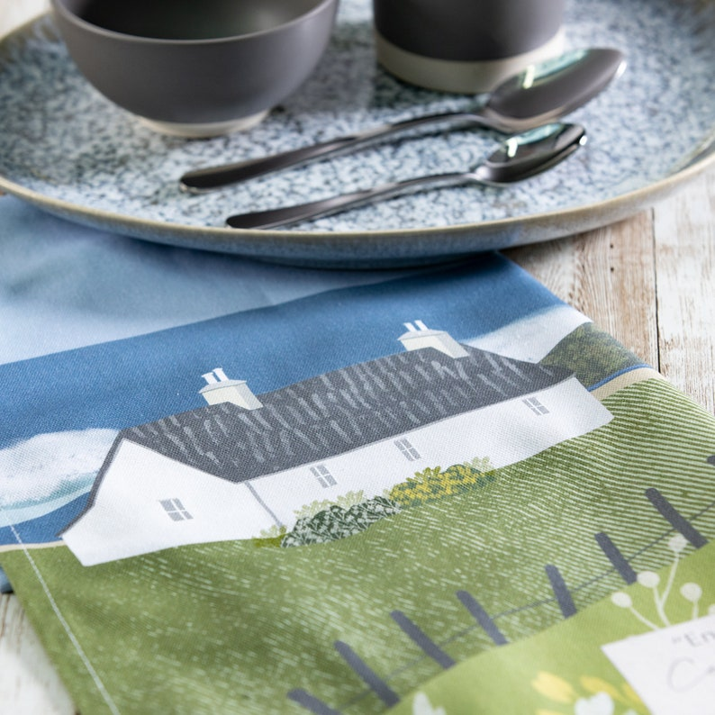 Coast Perfect Gift English Countryside Celina Digby Luxury 100/% Cotton Large Kitchen Tea Towel