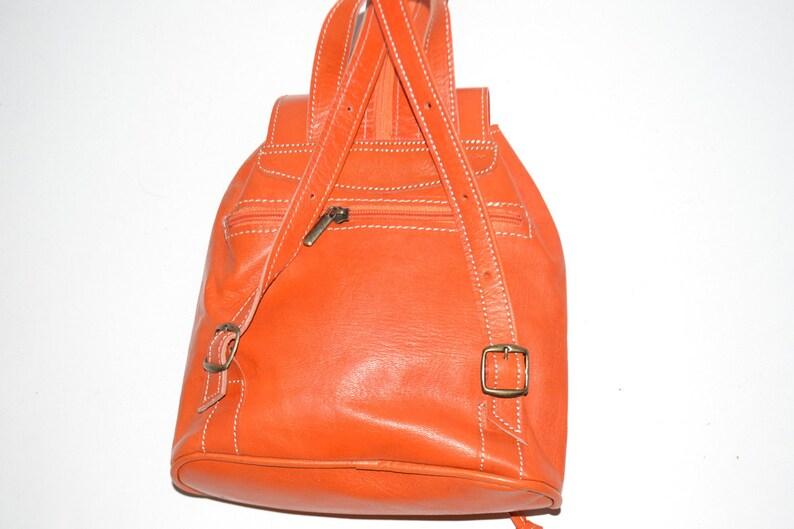 Laptop Backpack Books Backpack. Shoulder Leather Bag Unisex Backpack Premium Backpack Moroccan Handmade Leather Backpack