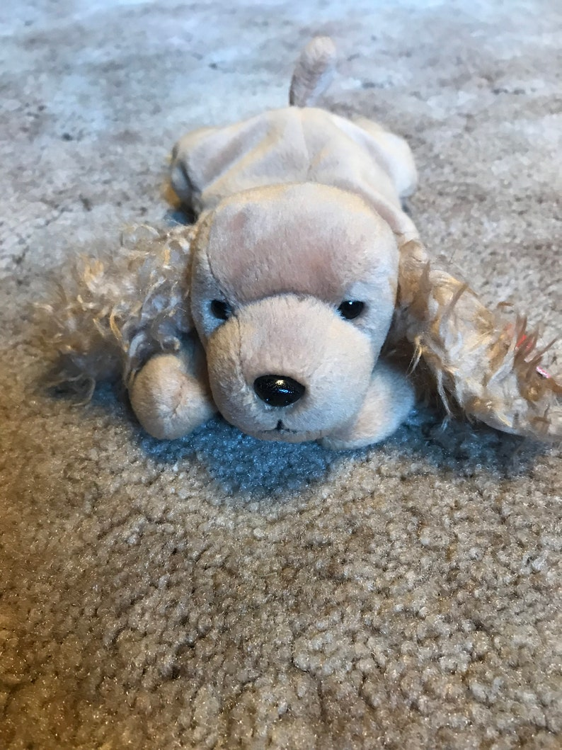 c7f95dd5d60 Spunky the Original Ty Beanie Baby Dog