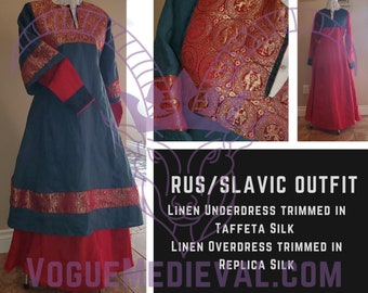 Outfit: Slavic/Rus Gowns *Custom* MADE TO ORDER